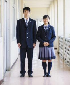 神戸野田高等学校・冬服